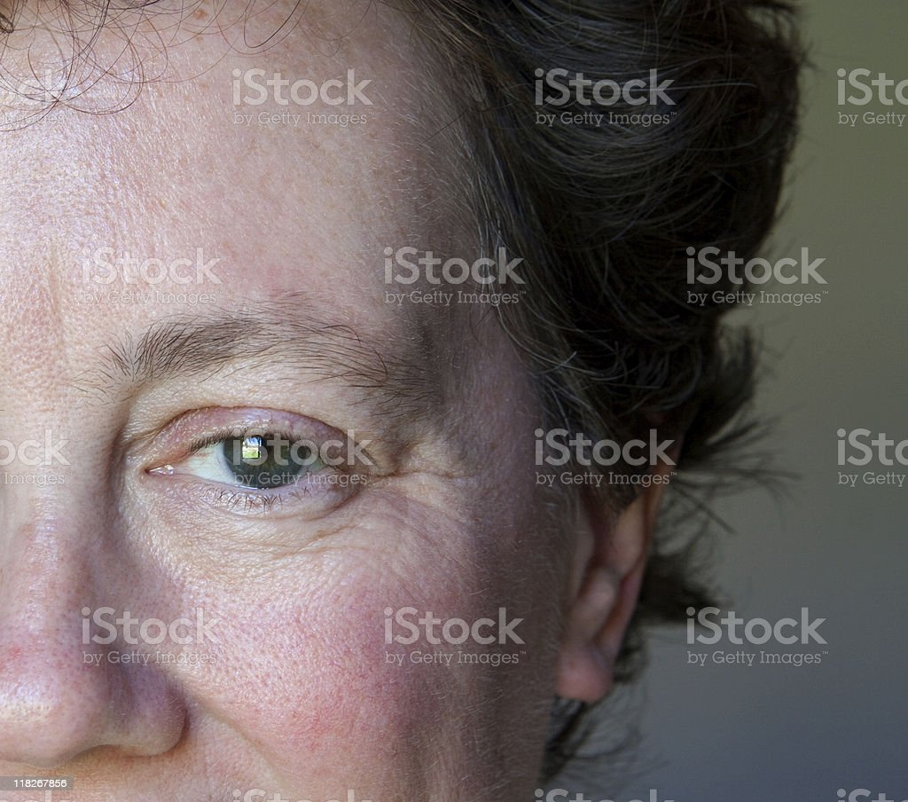 Caucasian Woman stock photo