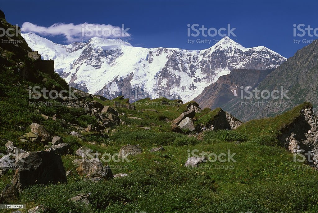 Caucasus Mountains. royalty-free stock photo
