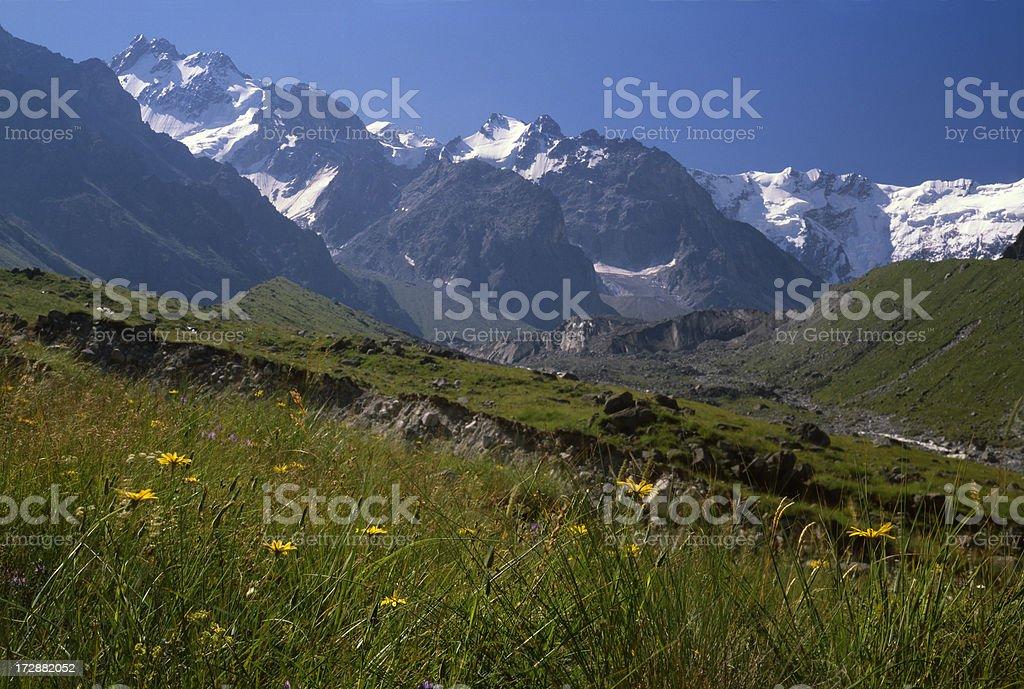 Caucasus Mountains. royalty-free stock photo