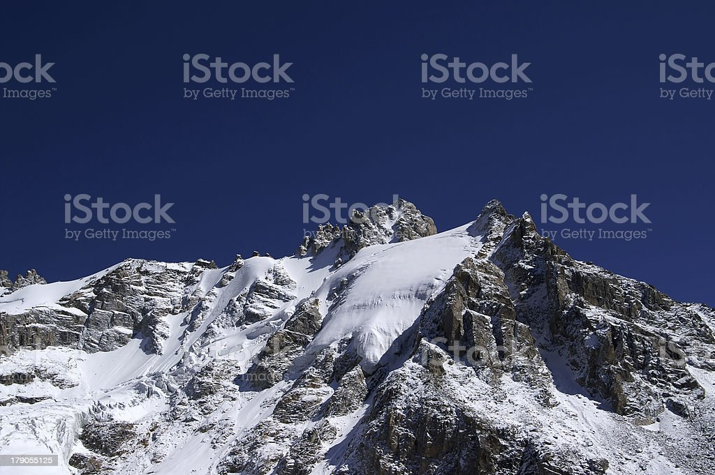 Caucasus Mountains royalty-free stock photo