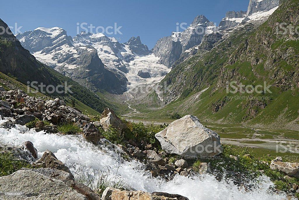 Caucasus,Dalar royalty-free stock photo