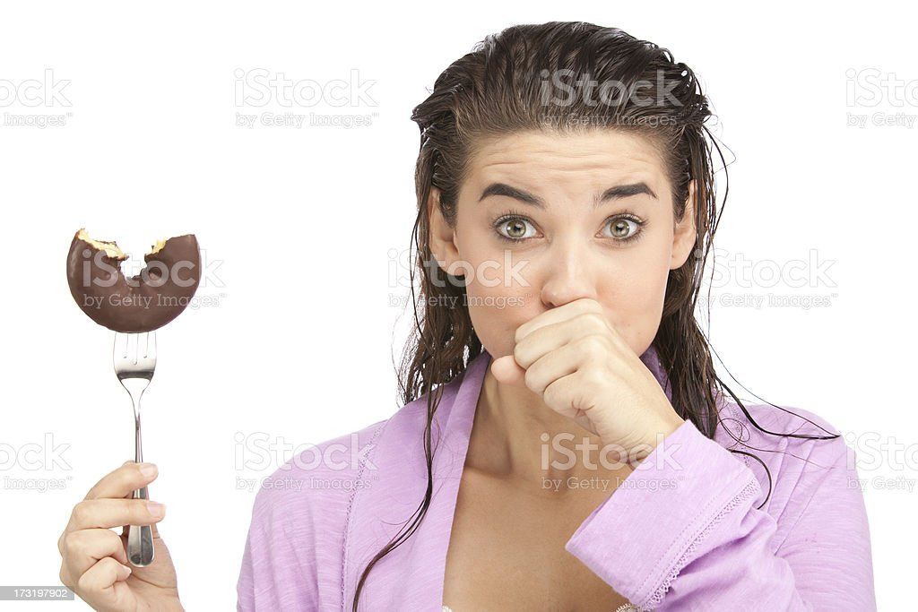 Caught Cheating on Diet stock photo