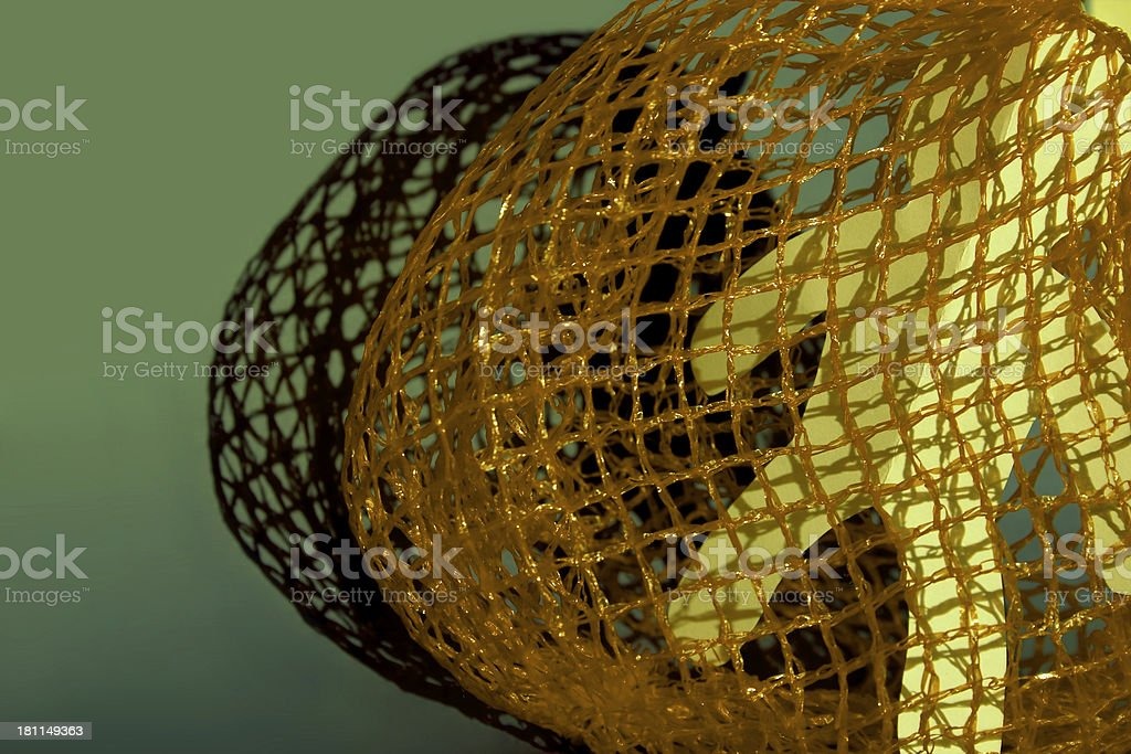 Caught in a net - 3 royalty-free stock photo