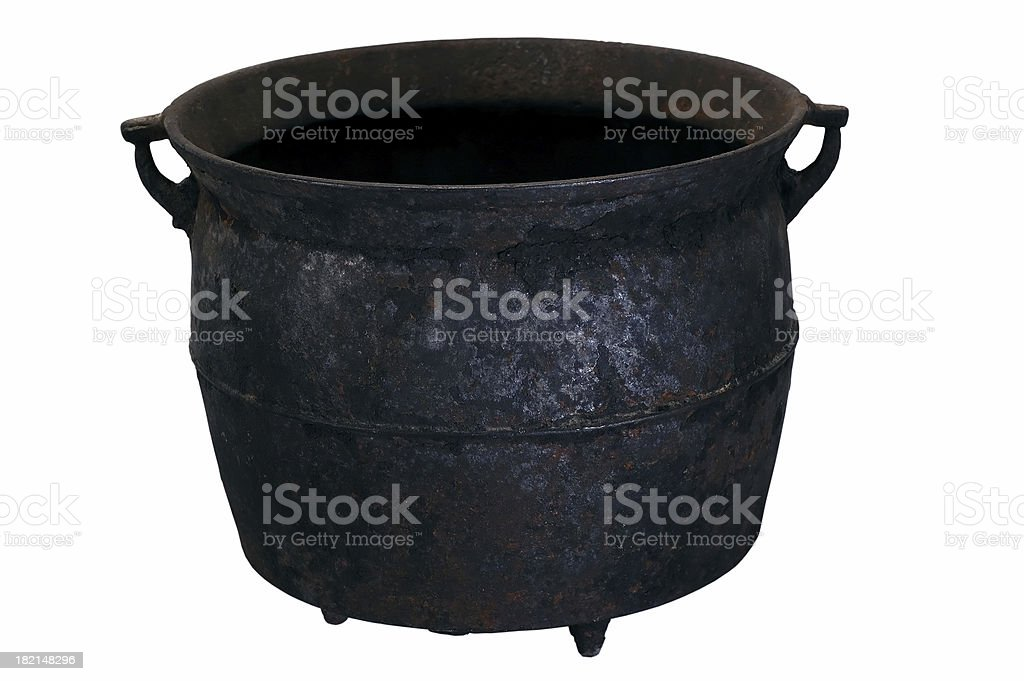 Cauldron royalty-free stock photo