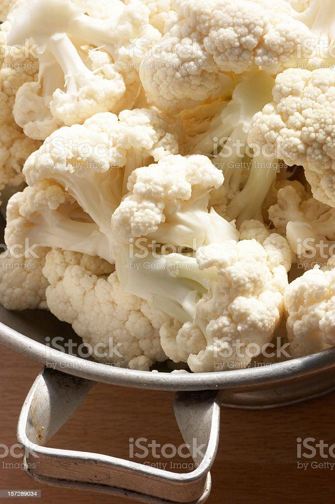 Cauliflower florets royalty-free stock photo
