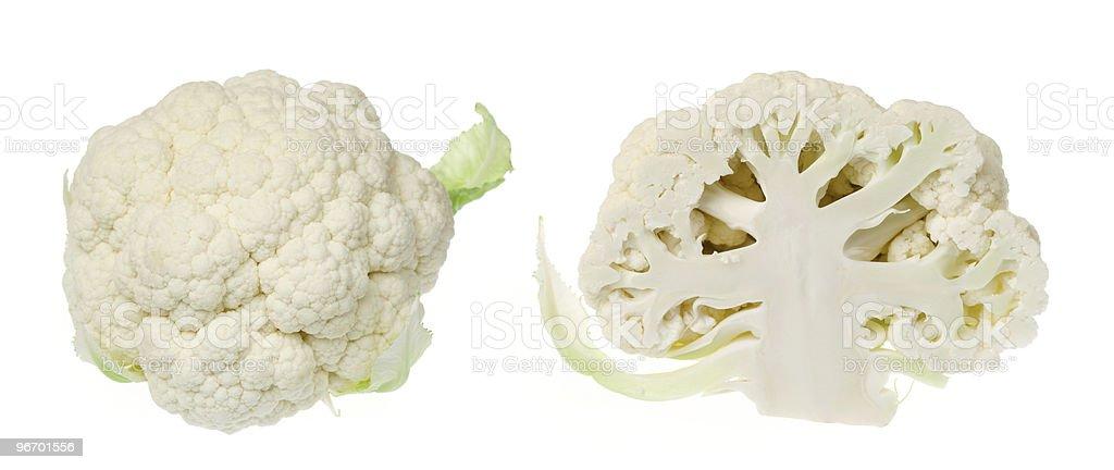 Cauliflower heads royalty-free stock photo