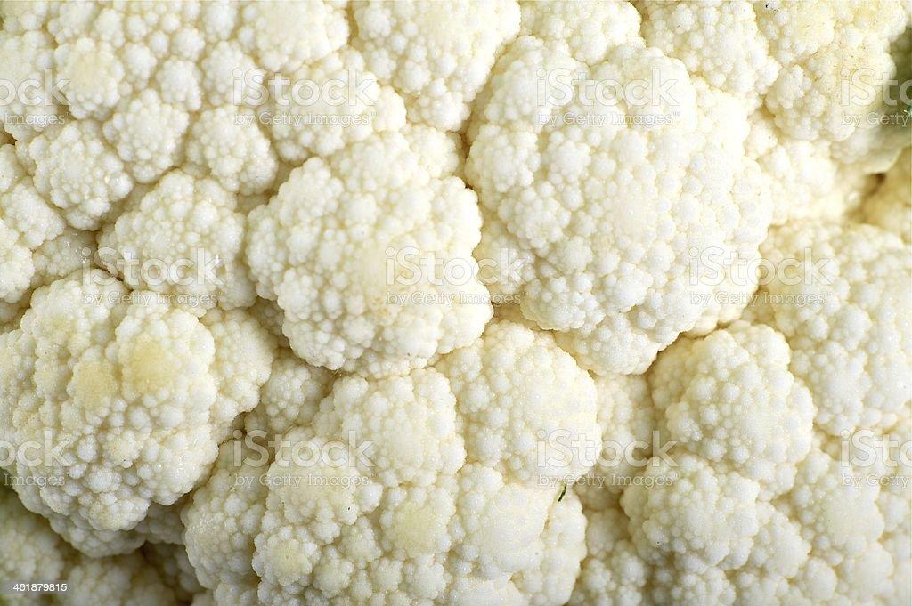 Cauliflower Macro royalty-free stock photo