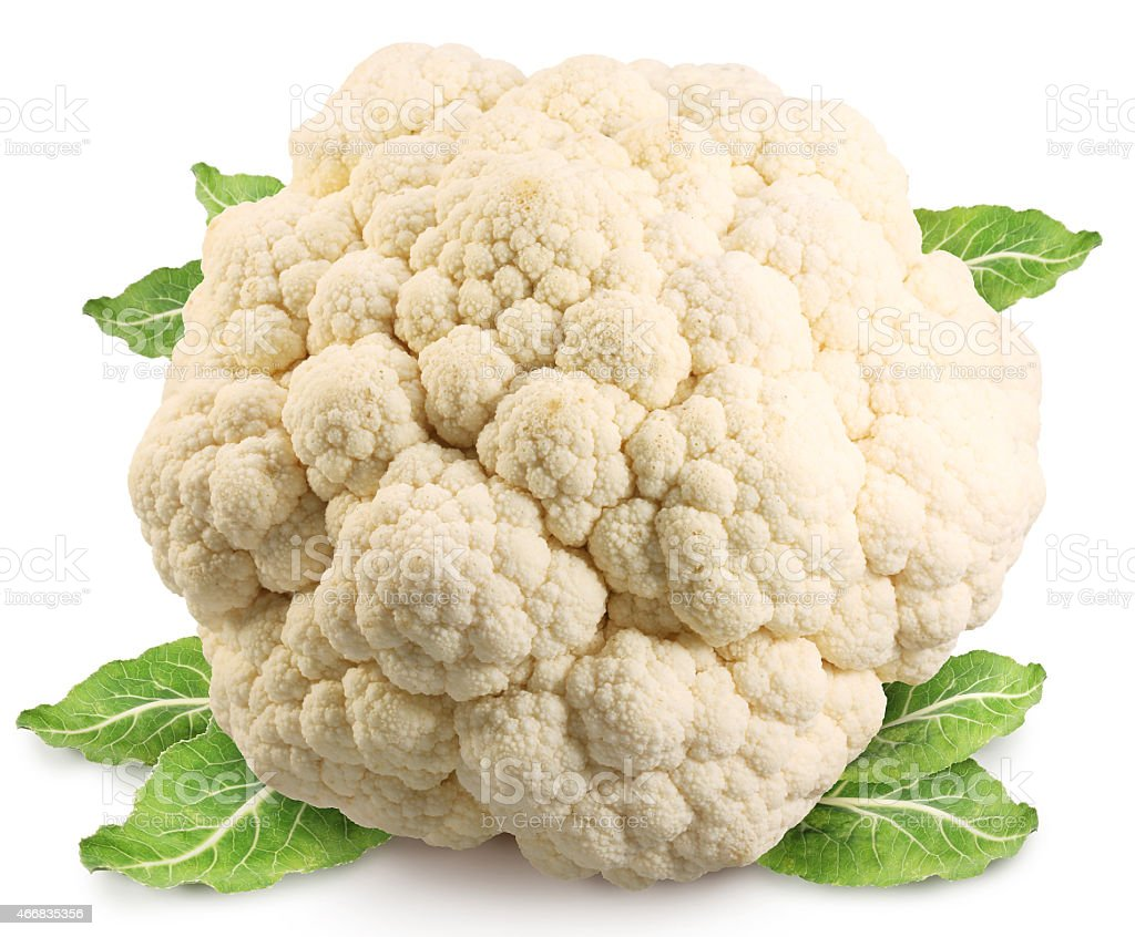 Cauliflower (cabbage). stock photo