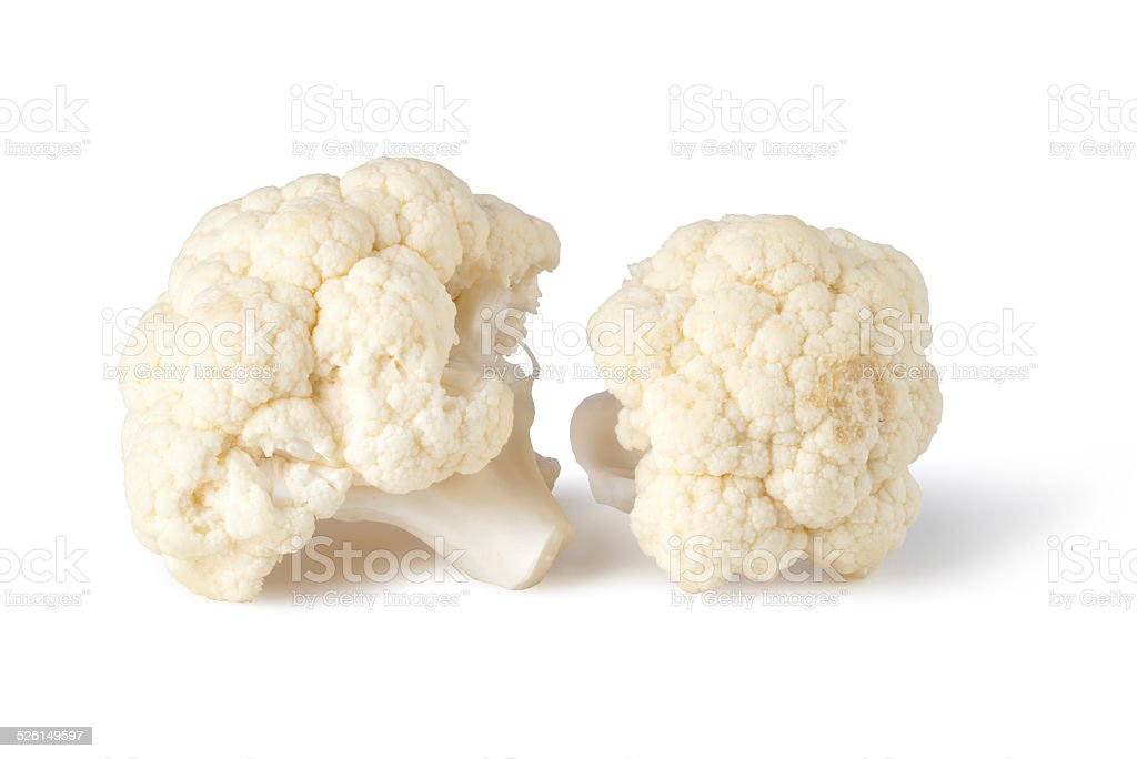 cauliflower stock photo