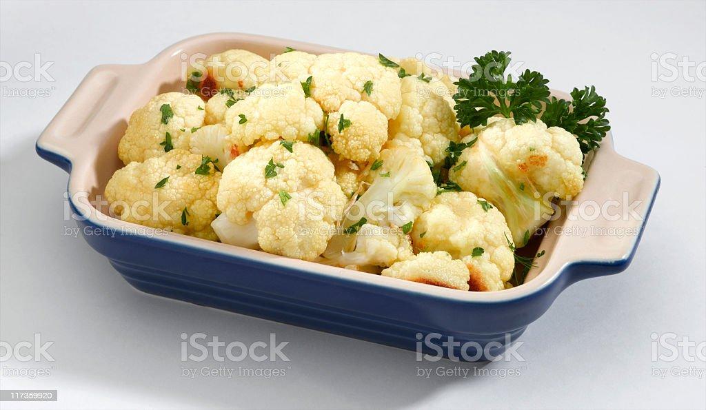 Cauliflower 'roasted' royalty-free stock photo