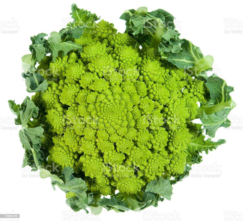 Cauliflower roman royalty-free stock photo