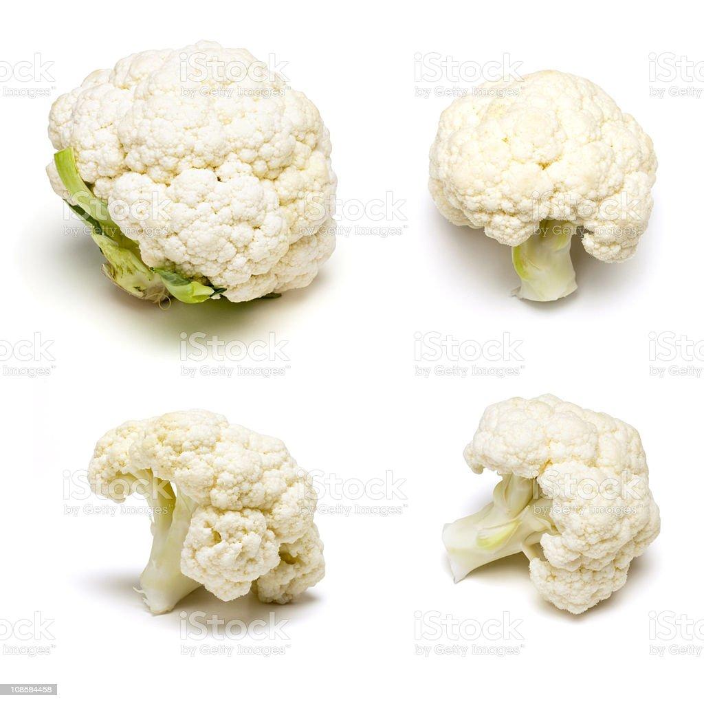 Cauliflower Set royalty-free stock photo
