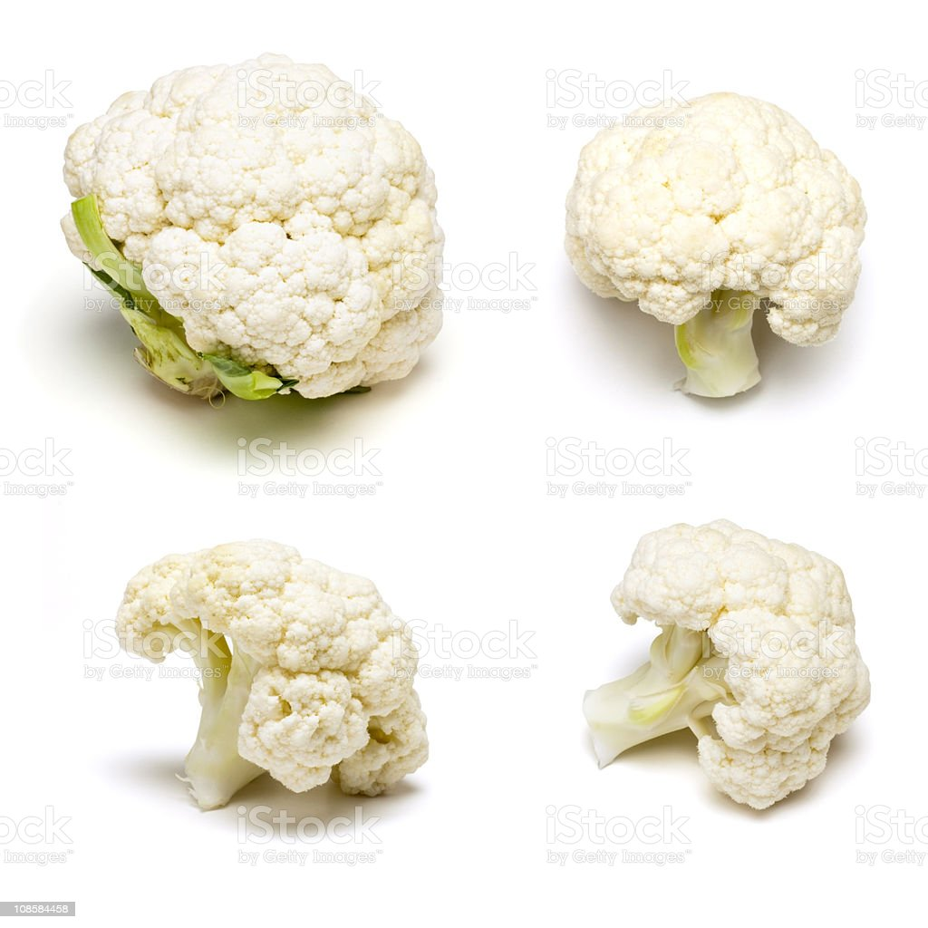 Cauliflower Set stock photo