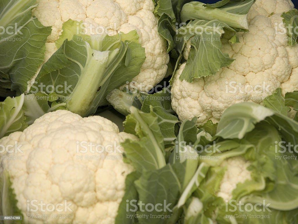 cauliflowers royalty-free stock photo
