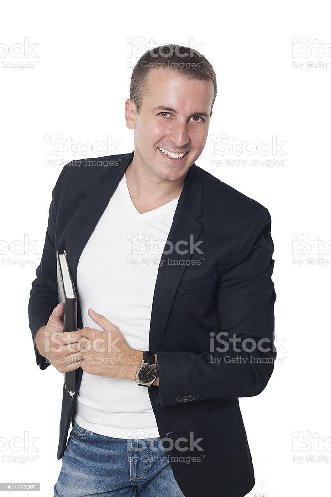 Causal Businessman royalty-free stock photo