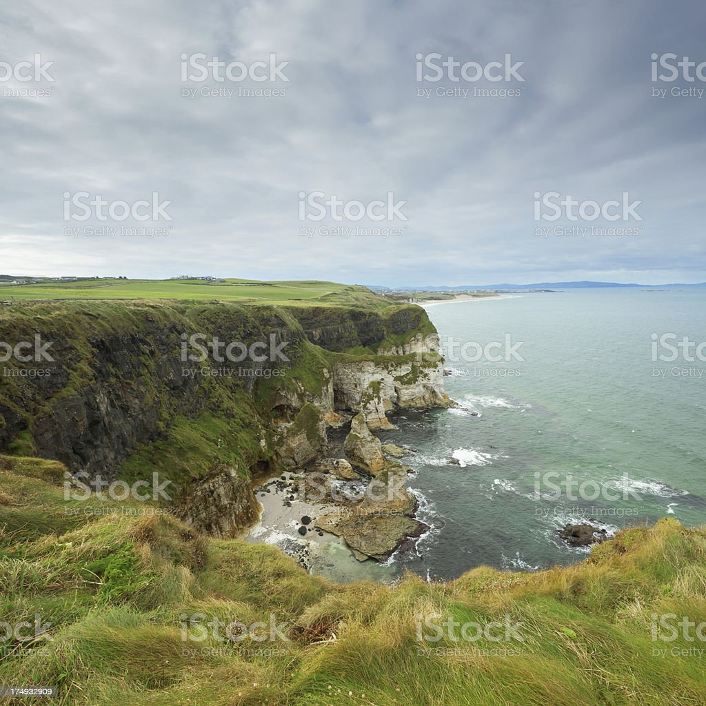 Causeway Coastline in Northern Ireland royalty-free stock photo