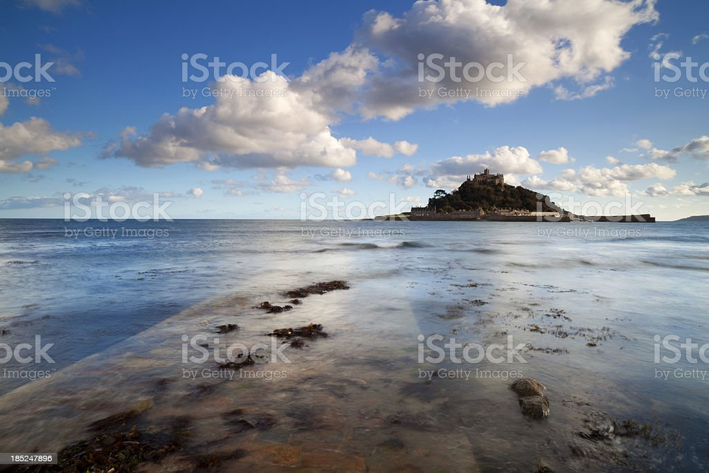 Causeway To St Michael's Mount stock photo