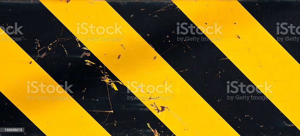 Caution background stock photo
