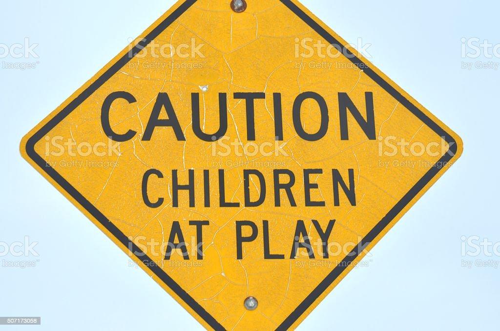 Осторожно играющие дети Стоковые фото Стоковая фотография