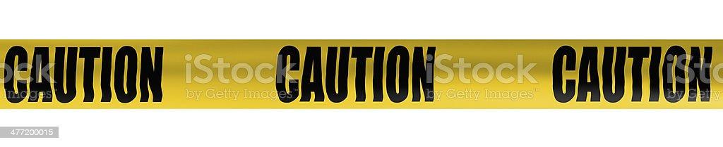 caution cordon tape stock photo