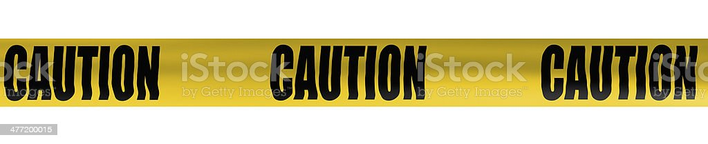 caution cordon tape stock photo