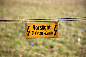 Caution, electric fence!