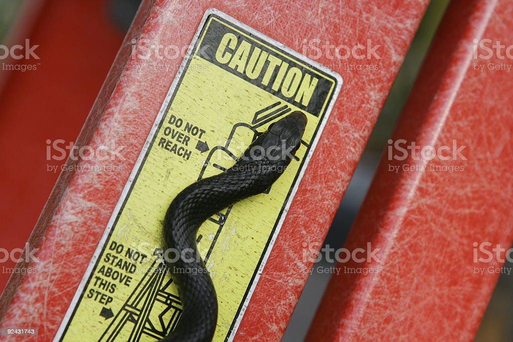 Caution stock photo