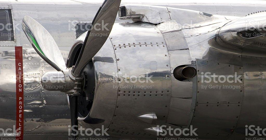 Caution Propeller stock photo