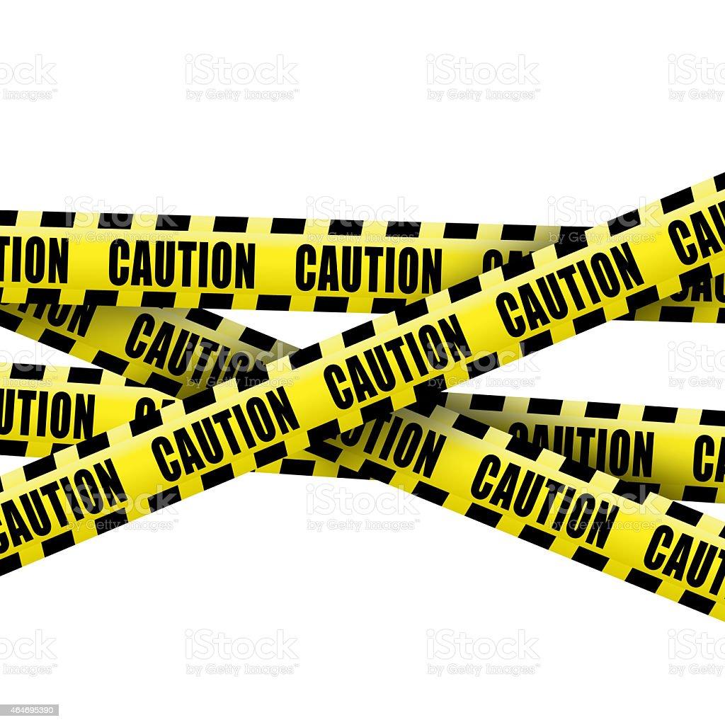 Caution tape stock photo