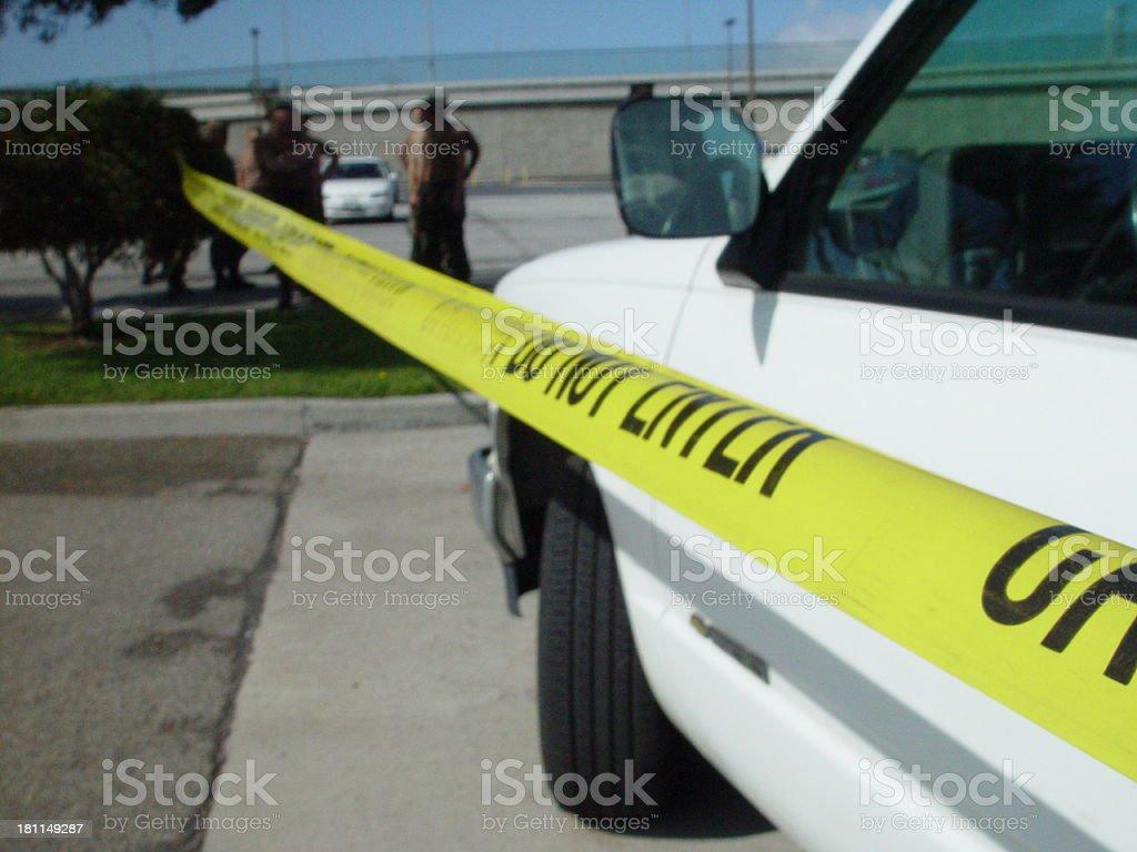 Caution - Training in Progress royalty-free stock photo