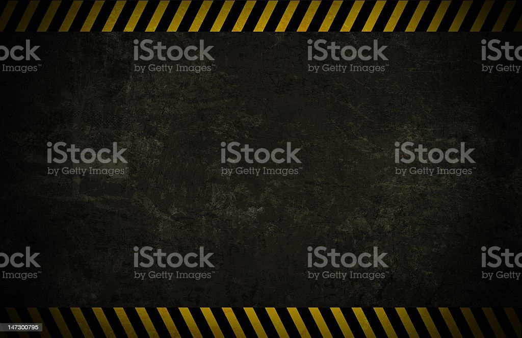 Caution Wall Background stock photo