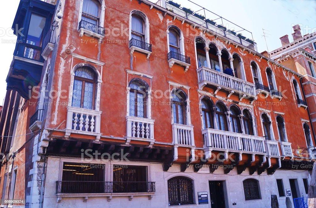 Cavalli Palace, Venice stock photo
