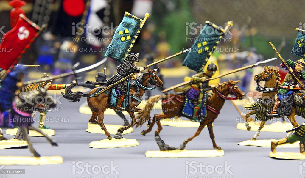 Cavalry Charge stock photo