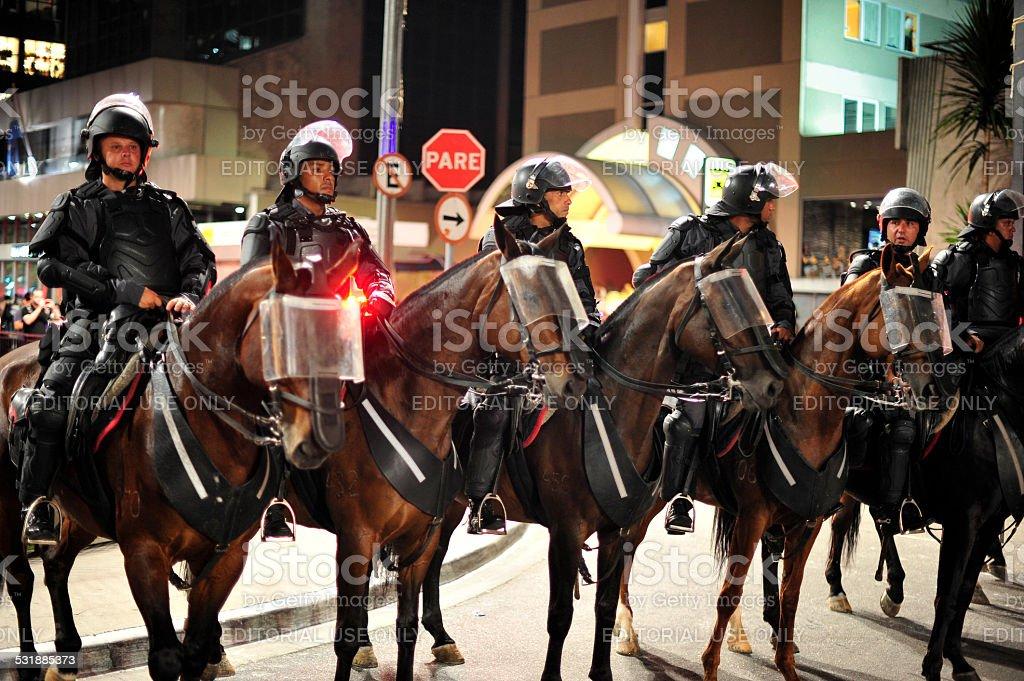 Cavalry stock photo