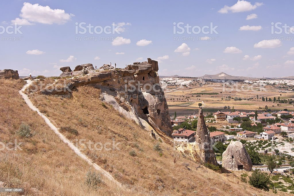 Cave city in Cappadocia royalty-free stock photo