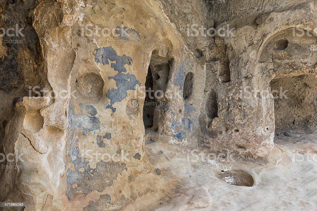 Cave city Uplistsikhe royalty-free stock photo