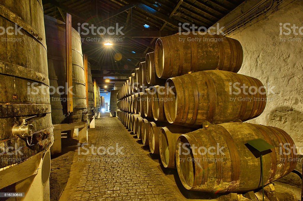 cave de Porto Portugal stock photo