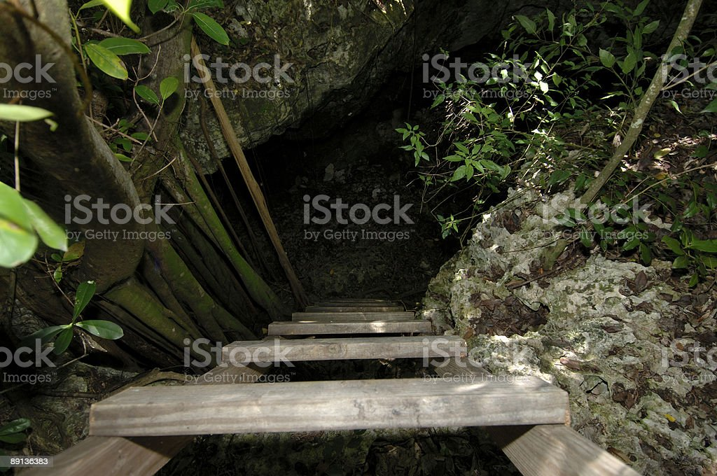 Cave Entrance stock photo