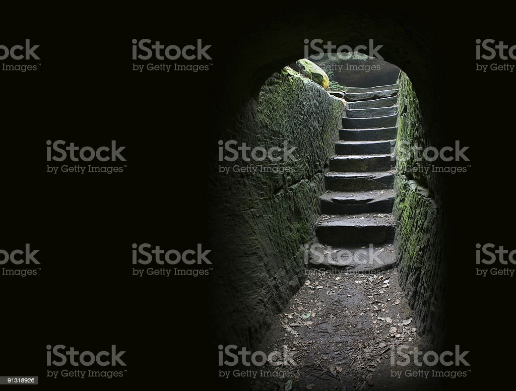 Cave exit 1 royalty-free stock photo
