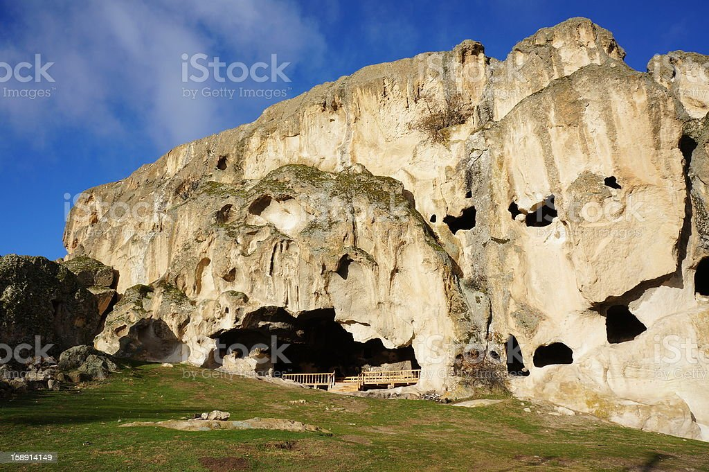 Cave in Phrygian Valley, stock photo