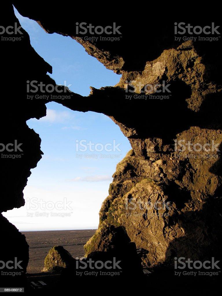 cave Mydalur stock photo