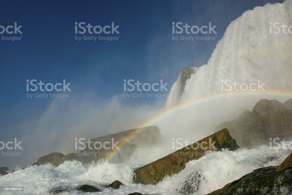 Cave of the Winds at Niagara Falls stock photo