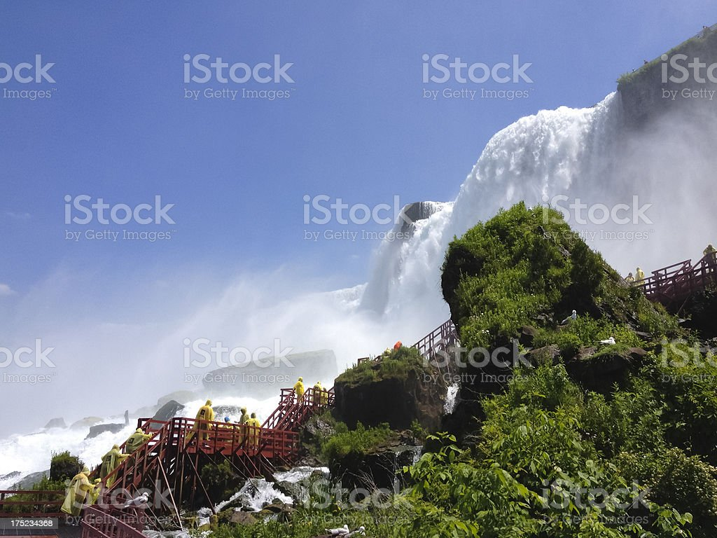 'Cave of the Winds, Niagara Falls' stock photo
