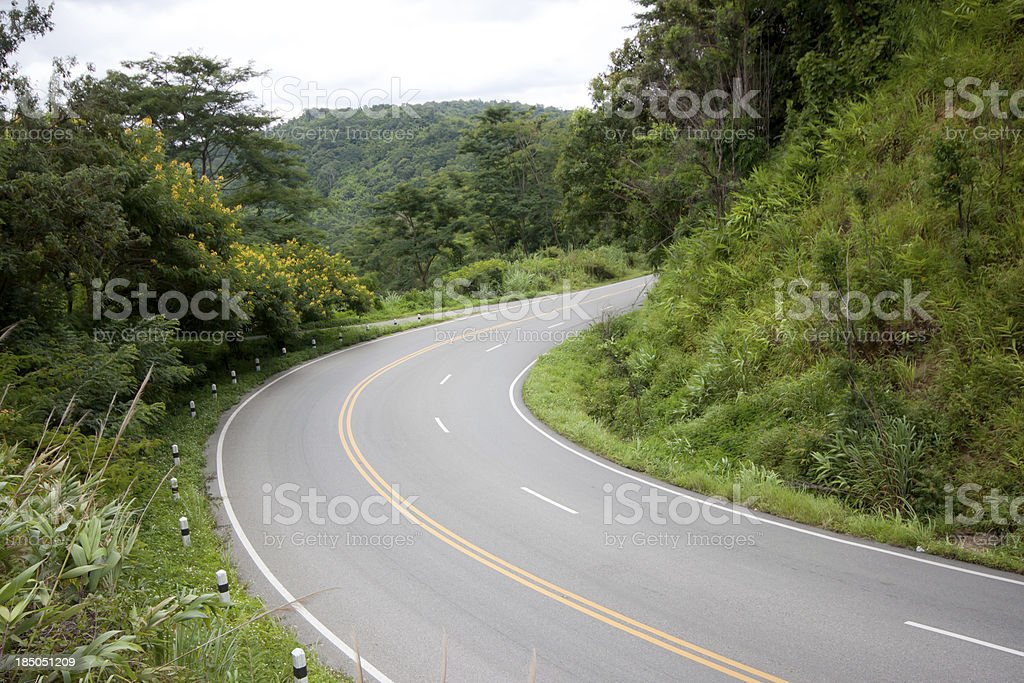 Cave on the road royalty-free stock photo