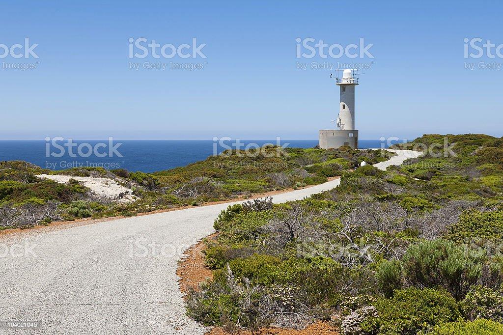 Grotte Point Lighthouse photo libre de droits