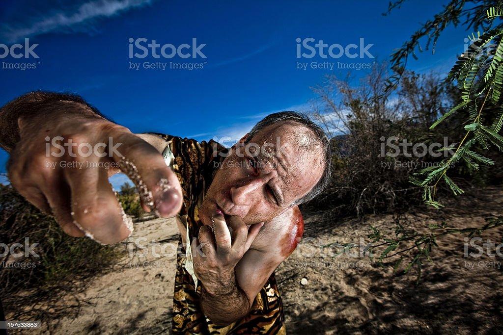 Caveman stock photo