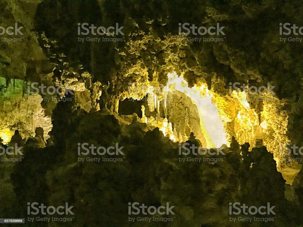 Cavern stock photo