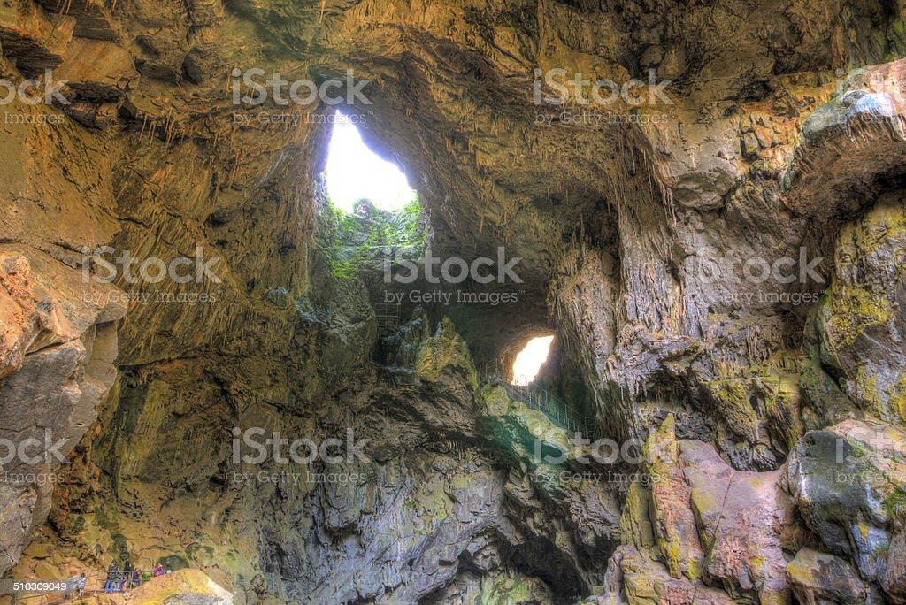 Caves in Australia stock photo