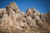 Caves in Cappadocia, Turkey