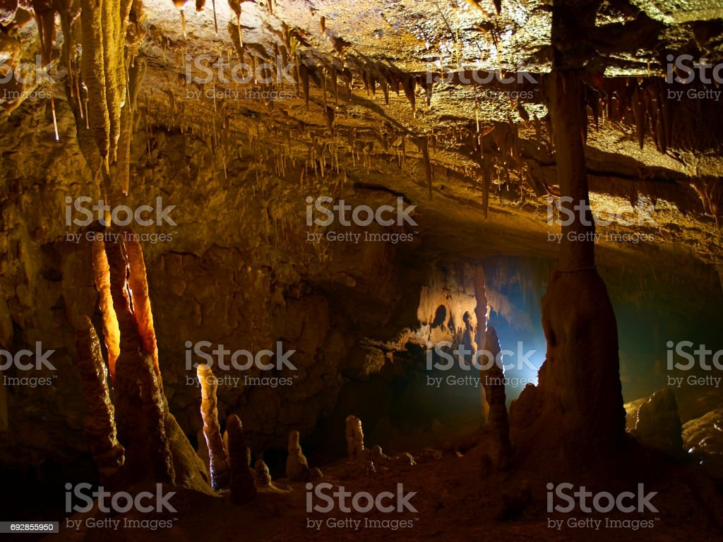 Caves stock photo